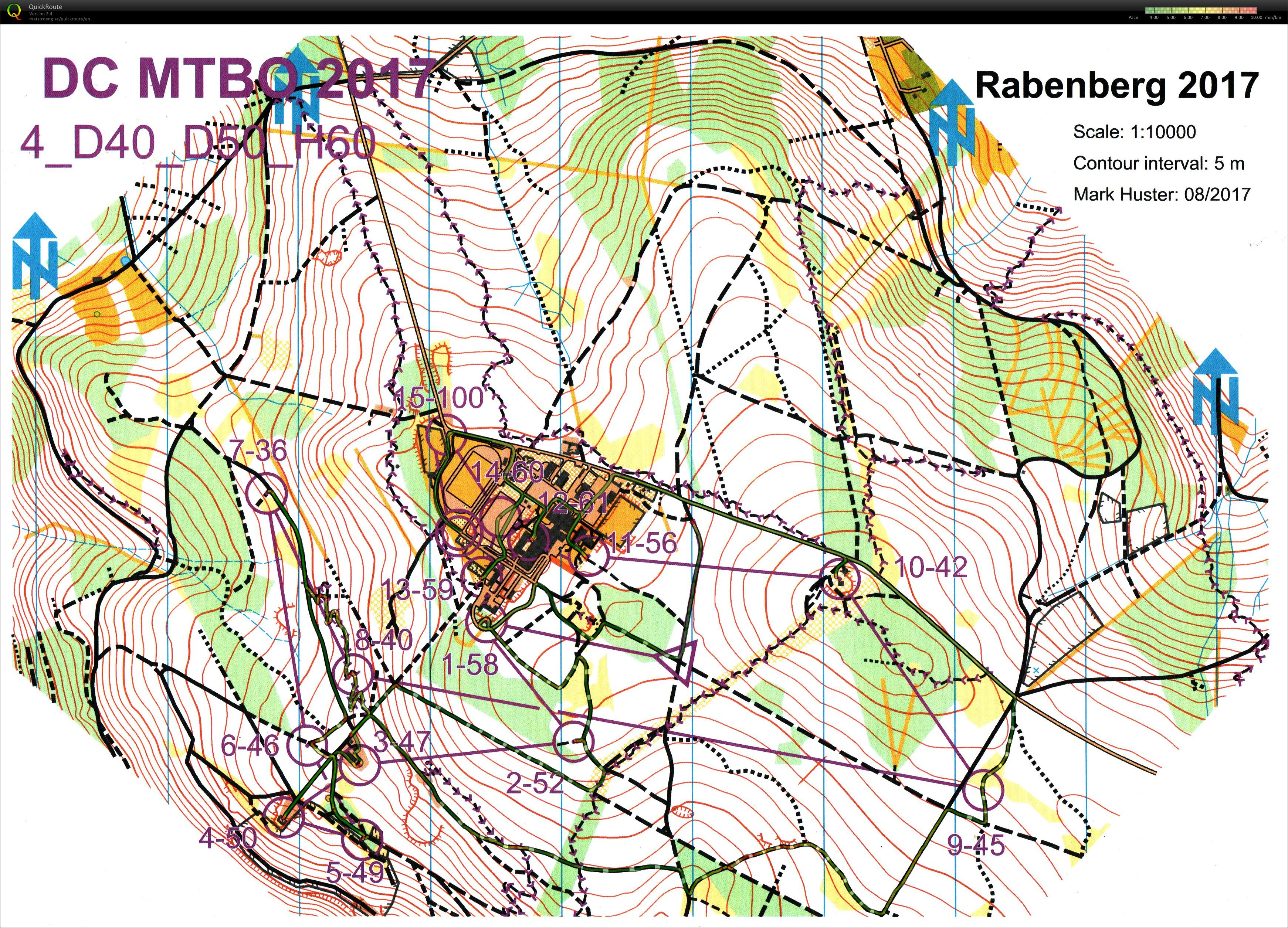 MTBO Deutschland-Cup - Middle (2017-10-08)